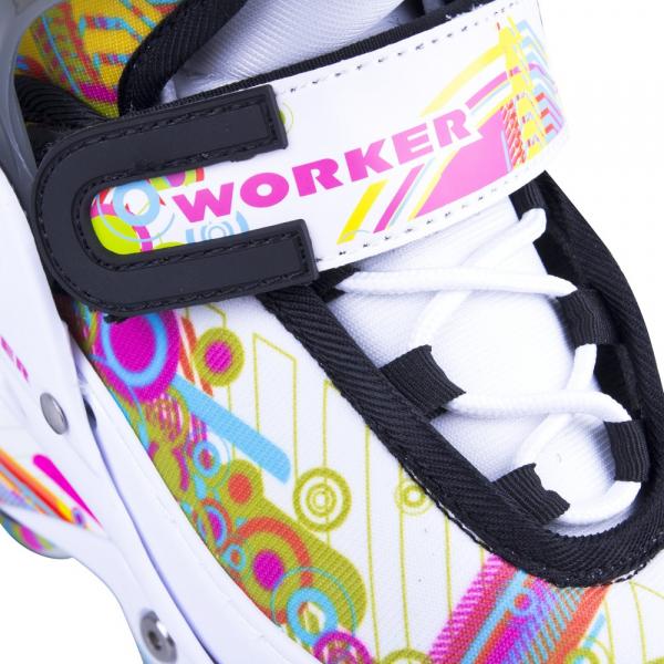 Role reglabile Worker Picola LED-cu roti iluminate [3]