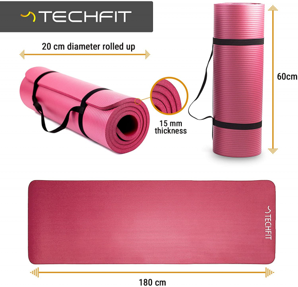 Saltea fitness Techfit, densitate 1.5 cm 9