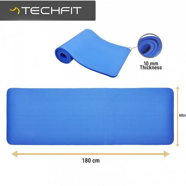 Saltea fitness Techfit 180x60x1 cm 2