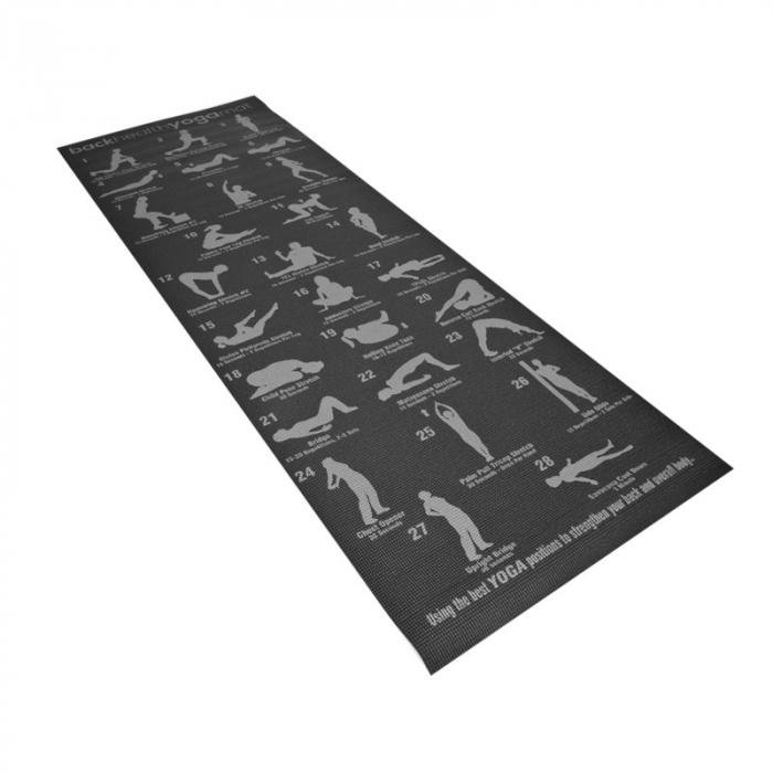 Saltea yoga F27B Yogi Plan, 173x61x0,6 cm [3]