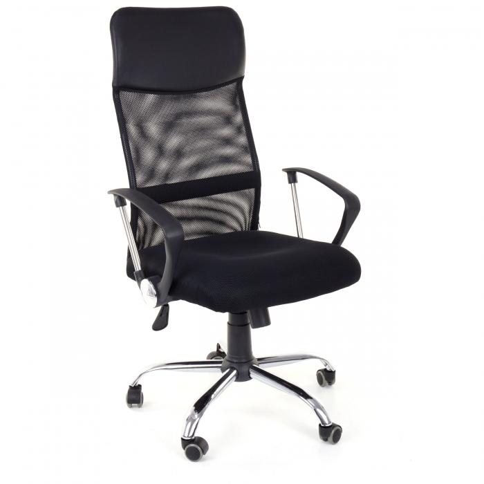 Scaun birou ergonomic Sportmann 2501-negru [1]