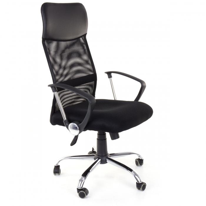 Scaun birou ergonomic Sportmann 2501-negru [3]