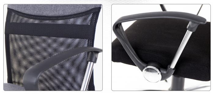 Scaun birou ergonomic Sportmann 2502, Gri [4]