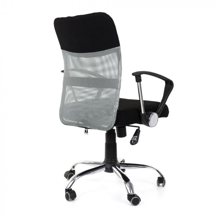 Scaun birou ergonomic Sportmann 2502-Negru [1]