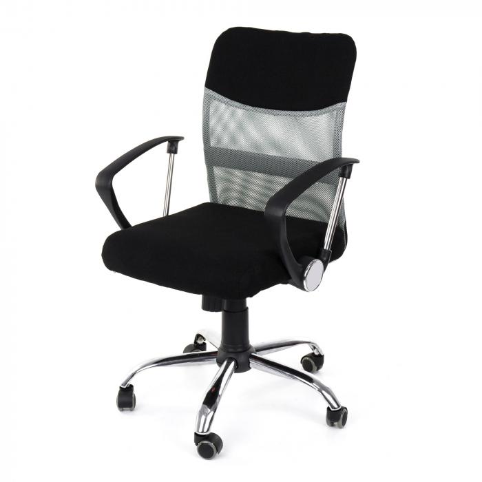 Scaun birou ergonomic Sportmann 2502-Negru [2]