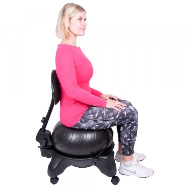 Scaun cu minge aerobic inSPORTline G-Chair [12]