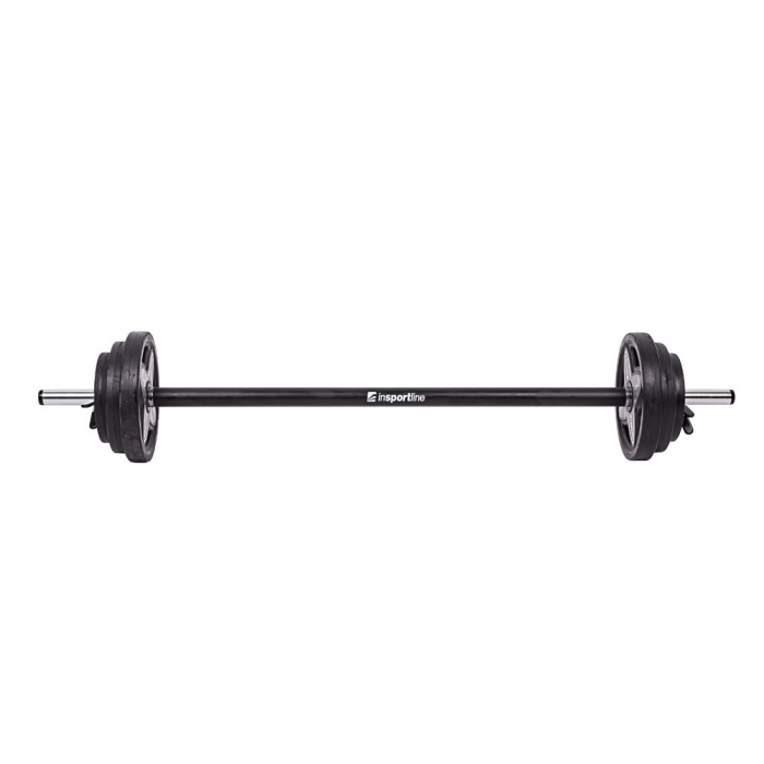 Set Haltera + Greutati inSPORTline Pumpstar 2 – 20kg 0