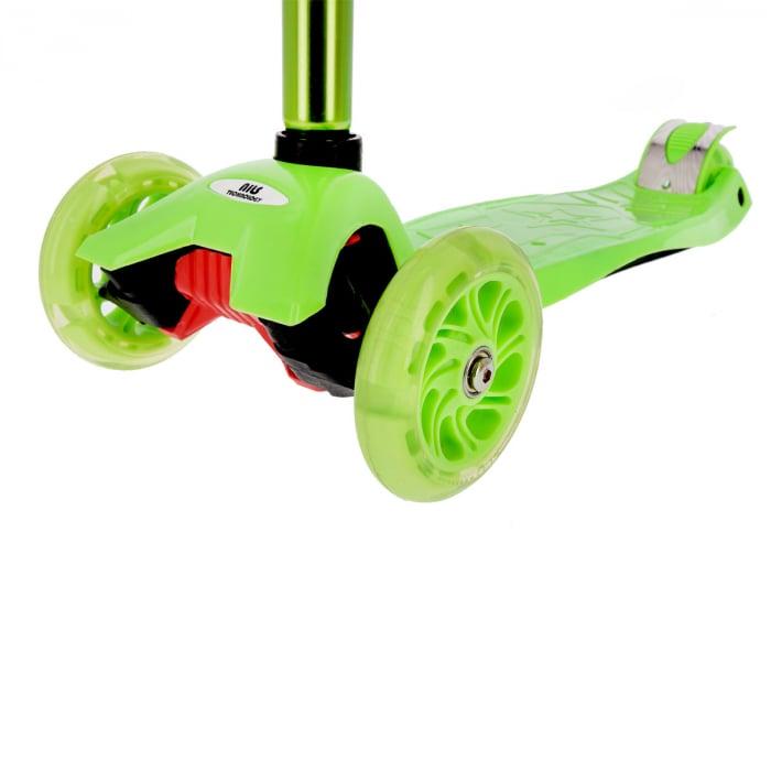 Trotineta Nils Extreme HLB06 120 mm, verde [5]