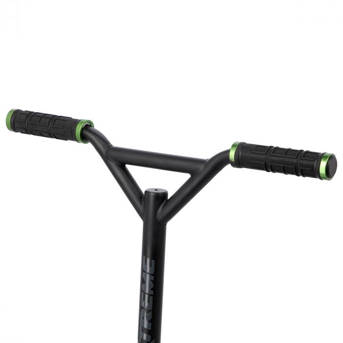 Trotineta Nils Extreme HS115 110 mm, negru/verde [9]