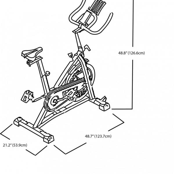 Bicicleta indoor cycling IC7 Schwinn 9