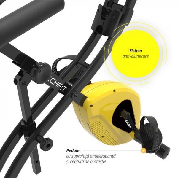 Bicicleta fitness pliabila XB300 5