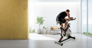 Bicicleta indoor cycling SRX-90 Toorx, volanta 24 kg2