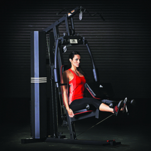 Aparat Multifunctional Adidas, bloc greutati 100 kg, 4 posturi de lucru9