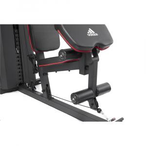 Aparat Multifunctional Adidas, bloc greutati 100 kg, 4 posturi de lucru7