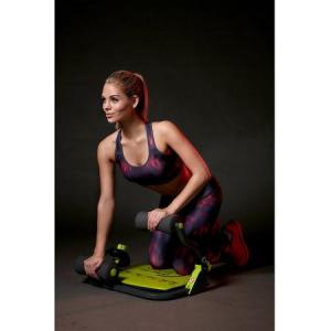 Aparat abdomene Core Trimmer, Greutate utilizator: 100 kg, Gri-Verde, DVD cu exercitii inclus [3]