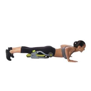 Aparat abdomene Core Trimmer, Greutate utilizator: 100 kg, Gri-Verde, DVD cu exercitii inclus [1]