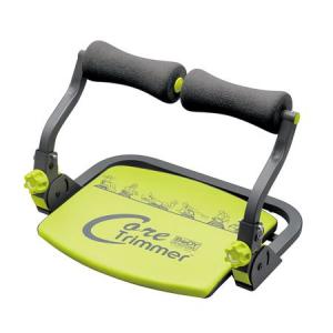 Aparat abdomene Core Trimmer, Greutate utilizator: 100 kg, Gri-Verde, DVD cu exercitii inclus [0]