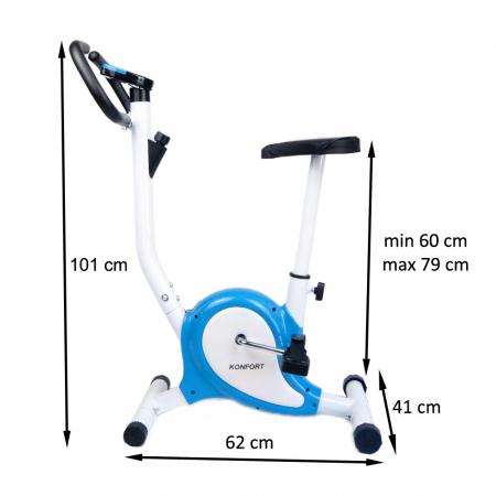 Bicicleta Fitness Konfort SPORTMANN, albastru [7]
