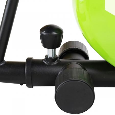 Bicicleta fitness orizontala HMS R9259 PLUS, negru-verde [10]