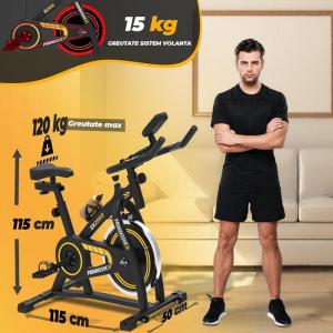 Bicicleta indoor cycling SX2000 Progressive3