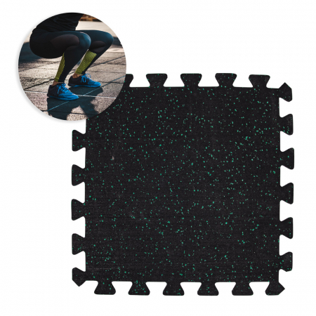 Covor de protectie cauciucat inSPORTline Puzeko 0.5 cm [3]