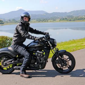Geaca Moto Barbati Piele W-TEC Mardok NF-1121 [2]