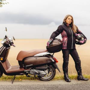 Geaca Moto Femei Softshell W-TEC Pestalozza NF-2781 [13]