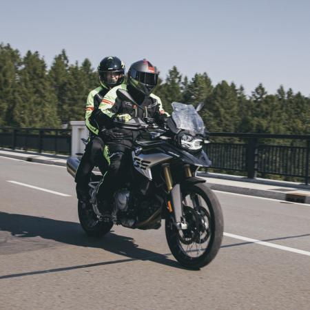 Geaca Moto Femei W-TEC Ventura Negru/Galben Florescent [0]