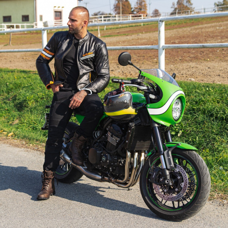 Geaca Moto Piele W-TEC Brenerro [2]