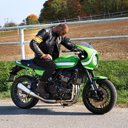Geaca Moto Piele W-TEC Brenerro [4]