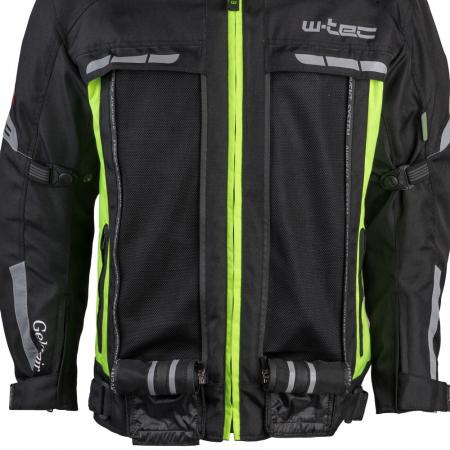 Geaca Moto W-TEC Gelnair - Negru/Verde [6]