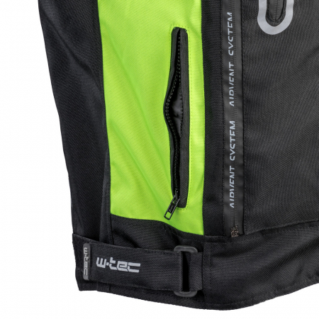Geaca Moto W-TEC Gelnair - Negru/Verde [9]