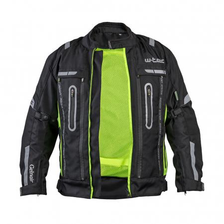 Geaca Moto W-TEC Gelnair - Negru/Verde [1]