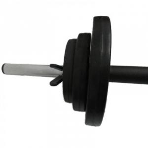 Set haltera + discuri 17.5 kg, Dayu Fitness [2]