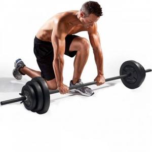 Set haltera + discuri 17.5 kg, Dayu Fitness [1]