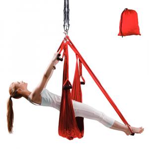 Hamac Aero Yoga inSPORTline Hemmok, rosu [0]