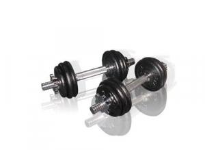 Set gantere reglabile 15 kg Toorx0