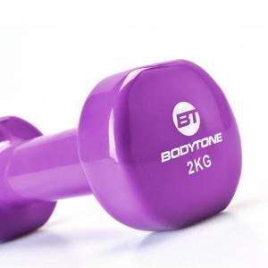Set gantere vinil 2x2 kg Bodytone [1]