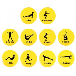 Marcaje de Exercitii inSPORTline Agily [11]