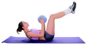 Minge aerobic inSPORTline 25 cm2
