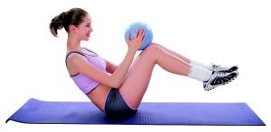 Minge aerobic inSPORTline 25 cm3