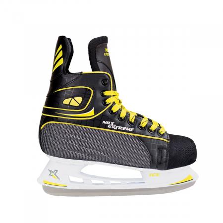 NIls Patine hockey negru/galben NH8556S [0]