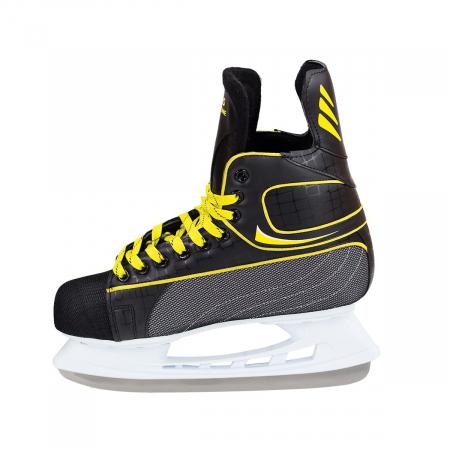NIls Patine hockey negru/galben NH8556S [1]