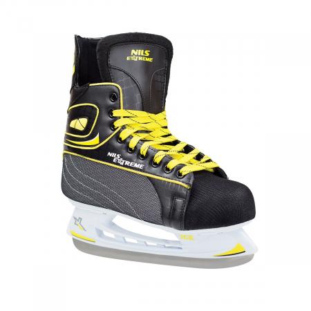 NIls Patine hockey negru/galben NH8556S [3]