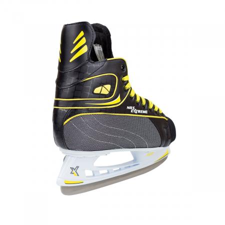 NIls Patine hockey negru/galben NH8556S [4]