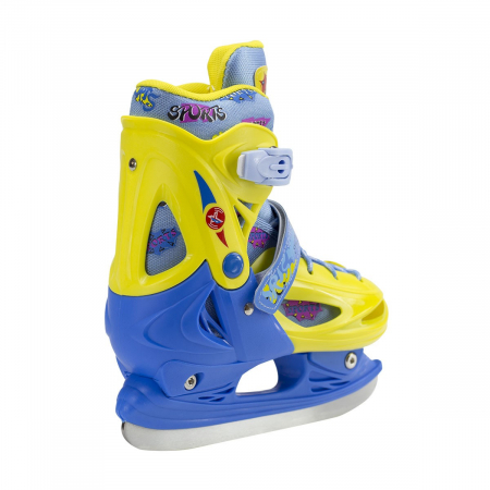 Nils Patine reglabile copii albastru/galben NH1105A [4]