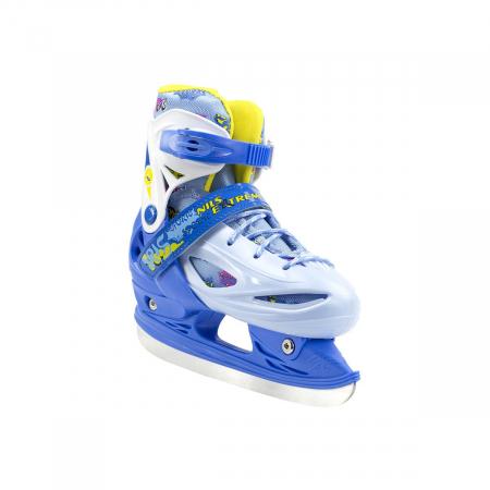 Nils Patine reglabile copii albastru NH1105A2