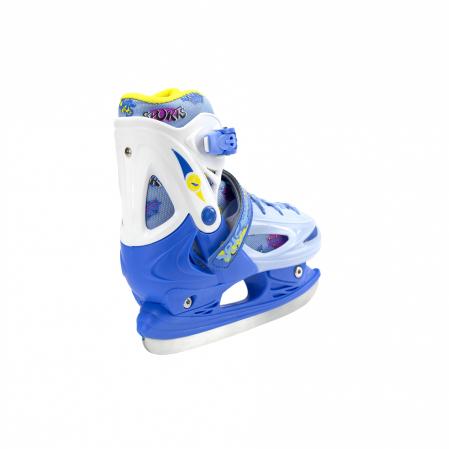 Nils Patine reglabile copii albastru NH1105A0