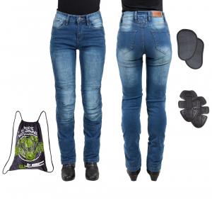 Pantaloni Moto Femei Jeans W-TEC Lustipa [14]
