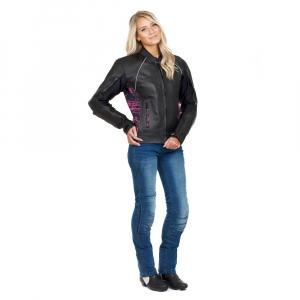 Pantaloni Moto Femei Jeans W-TEC Lustipa [2]